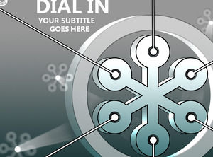 DIAL IN presentation template