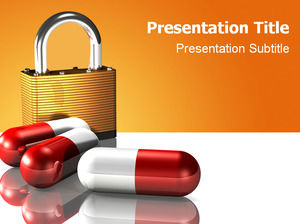 Drug safety theme ppt template