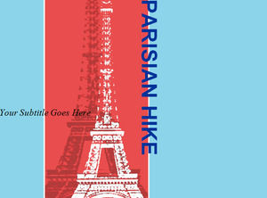Eiffel Tower in Powerpoint, the Templates