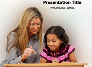 Elementary education counseling class ppt template