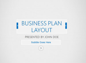 European and American classic blue simple wind business ppt template
