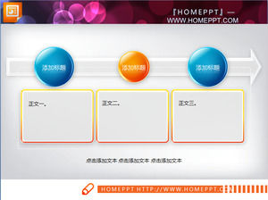 Indah PPT diagram alir Template