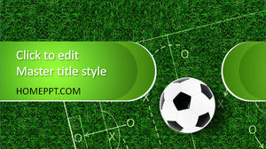 Free Soccer PowerPoint Template