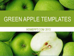 Fresh fruit background PowerPoint template download