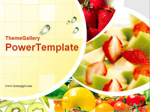 Fruit Salad PowerPoint Template Download