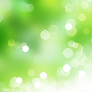 Green Halo Aesthetic PPT Background Picture (2)
