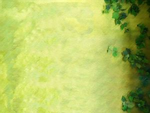 Green pirate tiger PPT background image