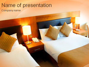Hotel Room Service Management Powerpoint Templates Free Download