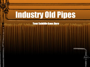 Industrial piping Powerpoint Templates
