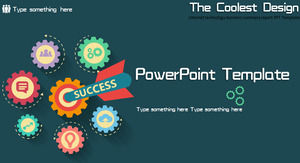 Internet technology business summary report PPT Templates