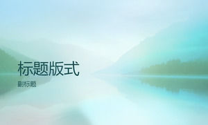 Lake light mountain elegant background template