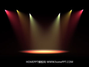 Light stage slide background image