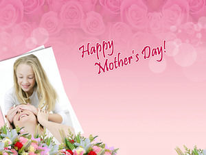 Mother Happy Birthday Mother 's Day PPT Template Download