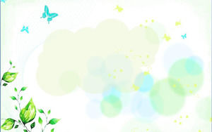 Painted Elegant PPT background image