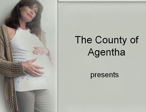 Pregnant mother Powerpoint Templates