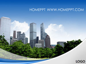Real estate construction industry PPT template download