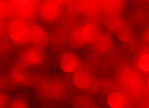 Red Dream Halo PPT background image