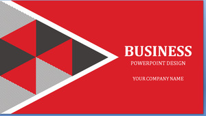 Red Flat Atmosphere Business PPT Templates