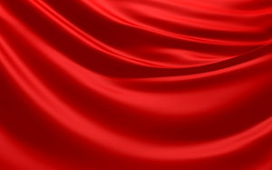 Red satin HD PPT background picture