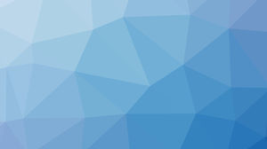 Sea blue polygon PPT background image