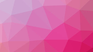 Soft pink polygon PPT background image