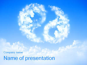 Tai chi shape of the white clouds background of the natural tai chi shape of the white clouds background of the natural scenery ppt template free download toneelgroepblik Gallery