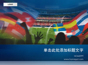 World Cup competition PPT template